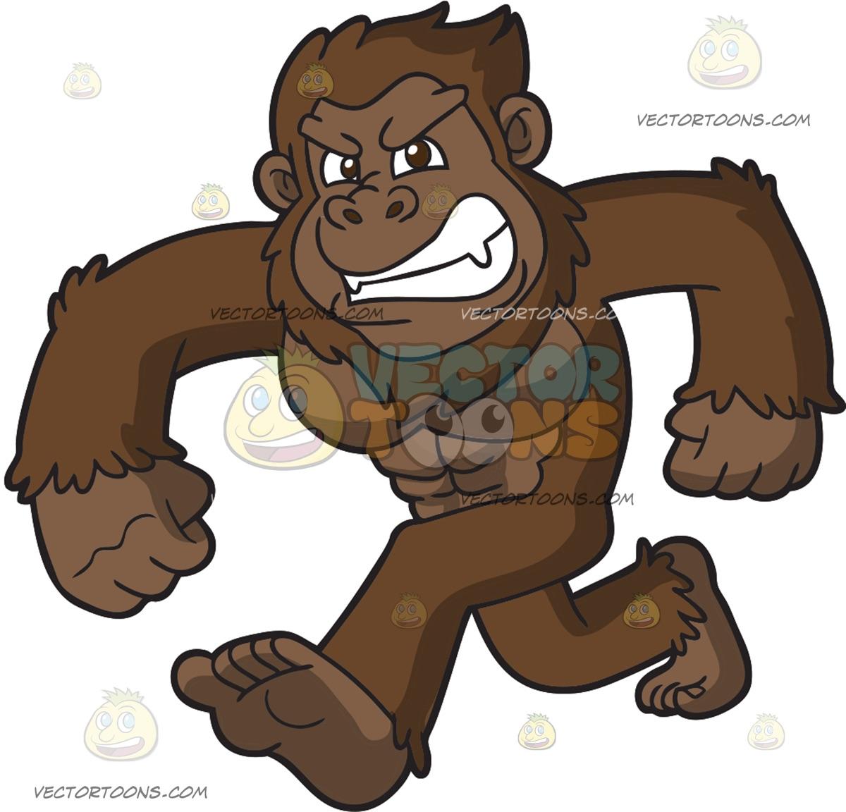 Bigfoot Vector Art