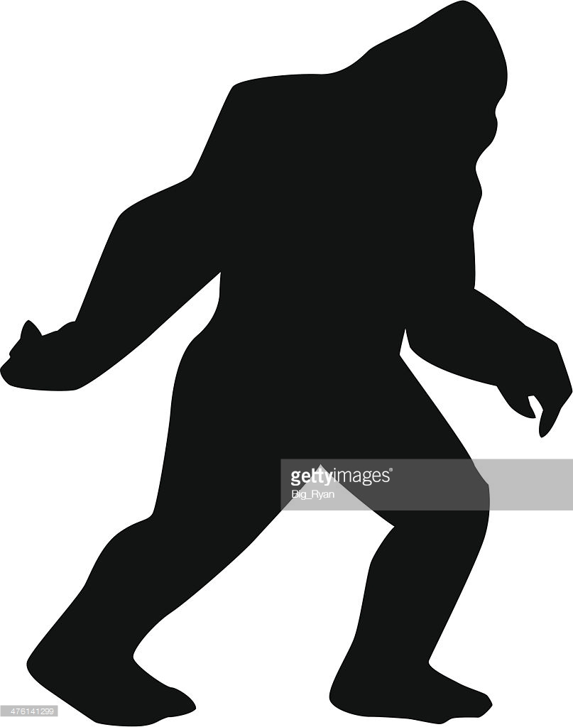 807x1024 Bigfoot Clipart Silhouette Free Collection Download And Share
