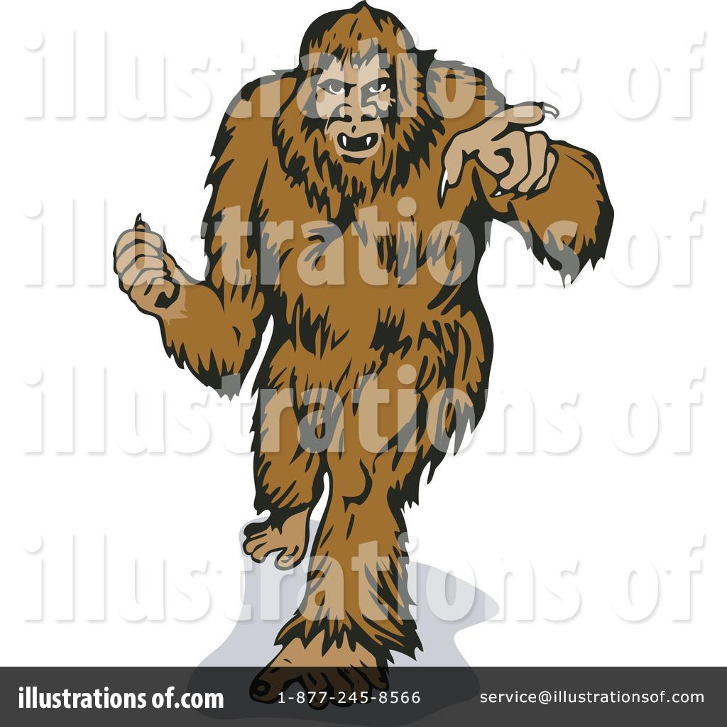 1024x1024 Bigfoot Clipart