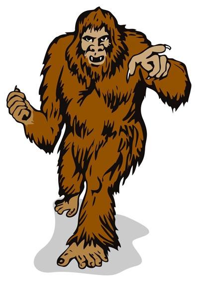 400x563 Bigfoot Clipart Free Download On Mbtskoudsalg