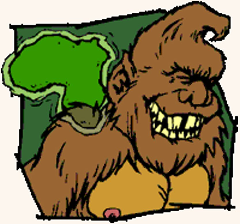 833x779 Bigfoot Clipart Sasquatch
