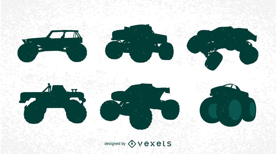 900x503 Free Bigfoot Cars Silhouettes