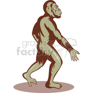 300x300 Royalty Free Bigfoot Image 388627 Vector Clip Art Image