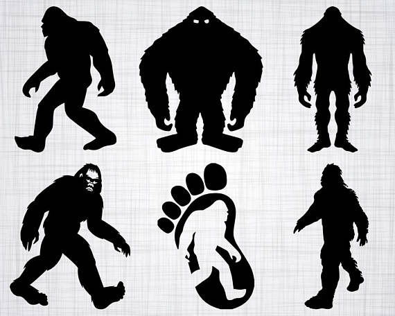 570x456 Winning Sasquatch Silhouette Stock Vector Art More Images Of Back