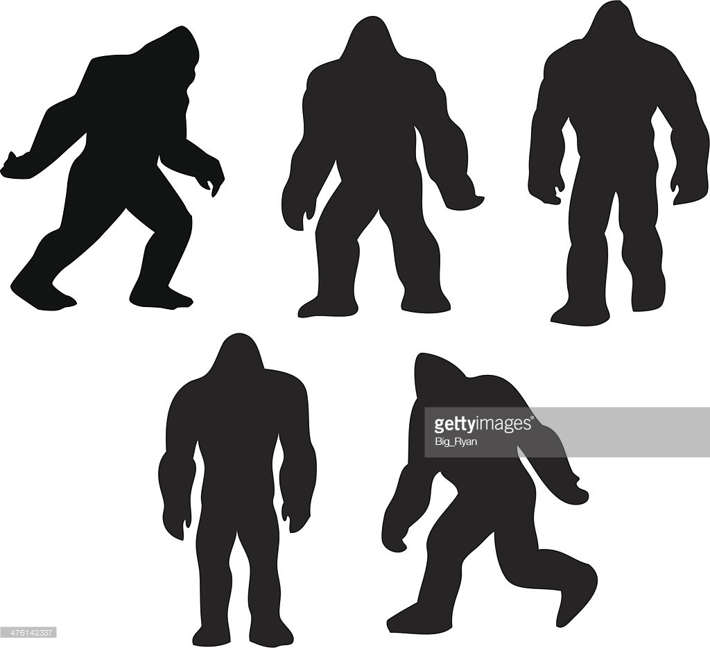 1024x935 Bigfoot Clipart Silhouette 3070011