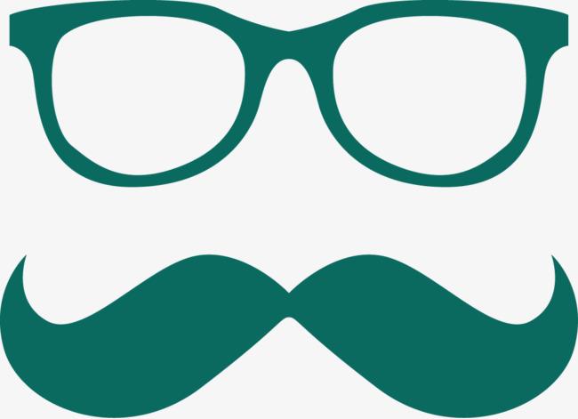 650x471 Bigote Y Gafas Frame Vector Bigote Gafas Hombres Png Y Vector Para