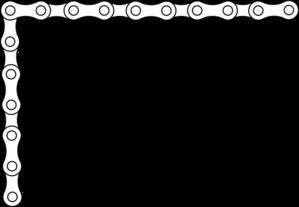 299x207 Bike Chain Border Clip Art