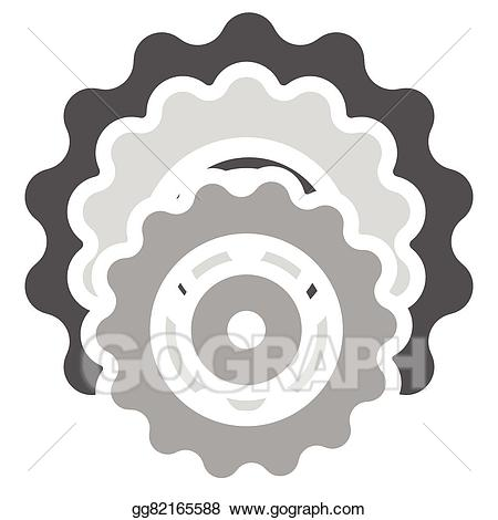 450x470 Bicycle Clipart Cog
