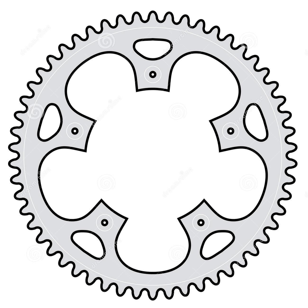 1300x1300 Vector Bicycle Crank Clipart Panda