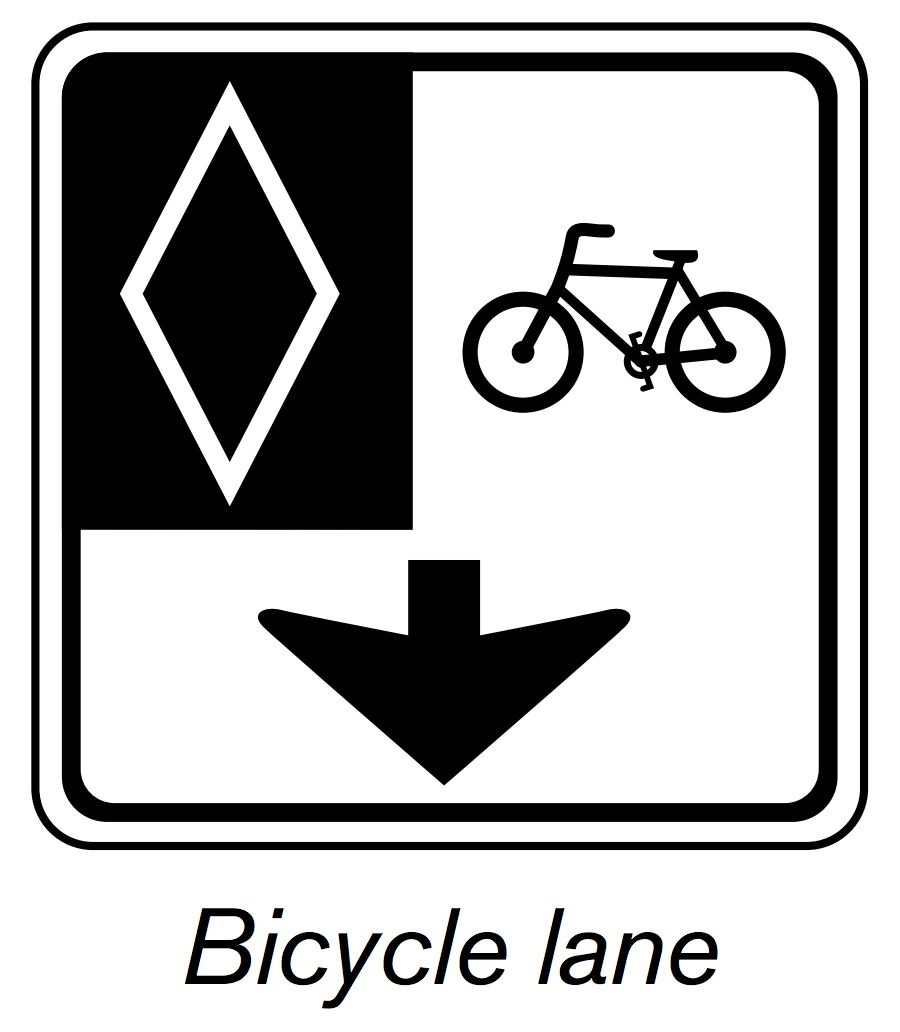 900x1032 Bus Lanes And Bicycle Lanes