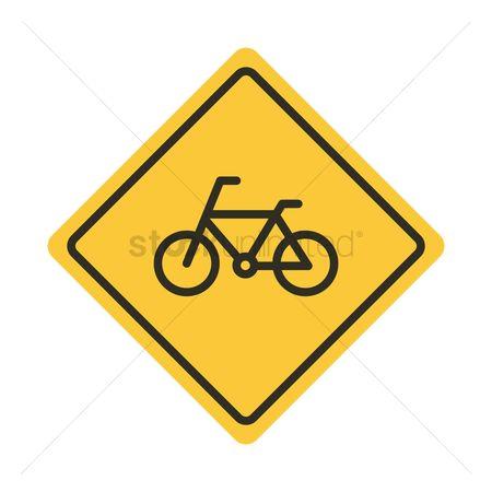 450x450 Free Bicycle Lane Only Stock Vectors Stockunlimited