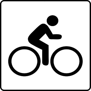 300x300 303 Free Bicycle Bicycle Rider Vector Public Domain Vectors