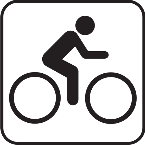 500x500 Us National Park Maps Pictogram For Bicycle Lane Vector Image