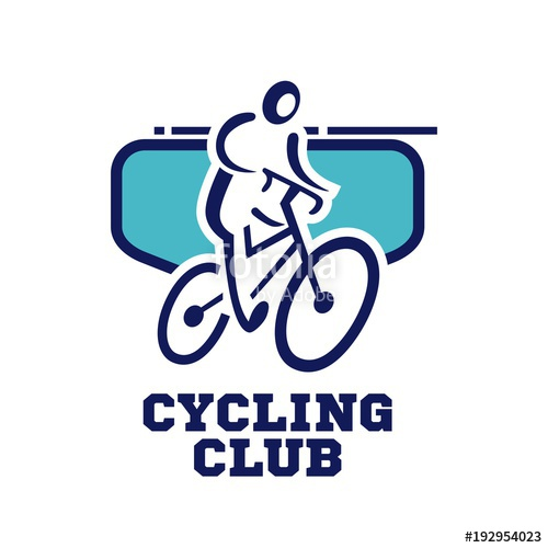500x500 Bicycle Logo Template. Bike Club Logo Stock Image And Royalty
