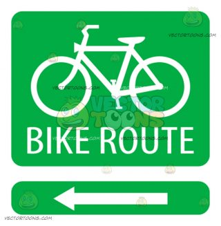 320x327 Bicycle Lane Clipart By Vector Toons