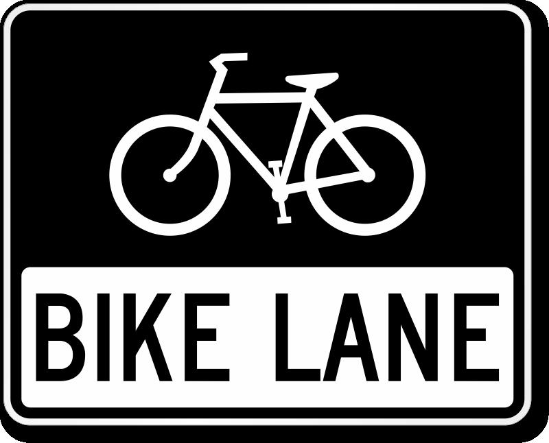 800x646 Bike Lane Sign