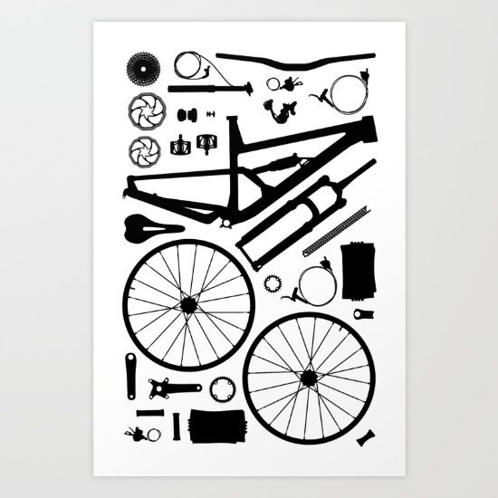 Bike Parts Vector at GetDrawings com | Free for personal use Bike