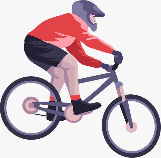 650x638 Hand Painted Professional Bike Rider, Bike Vector, Bike Hand