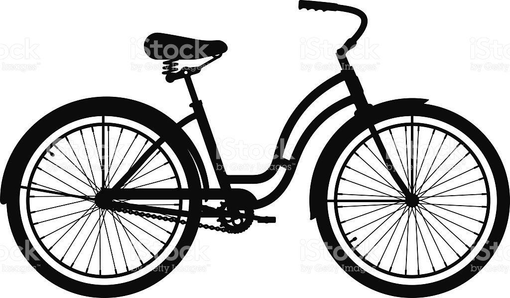 1024x600 Clipart Bike Beach Bike