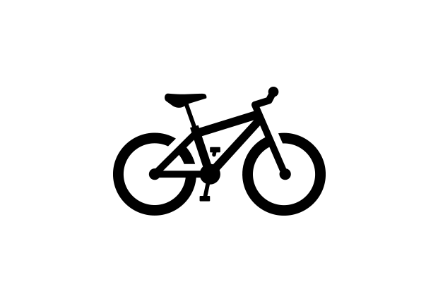 620x430 Cycling Mountain Bike Royalty Free Vector Icon Released Under The