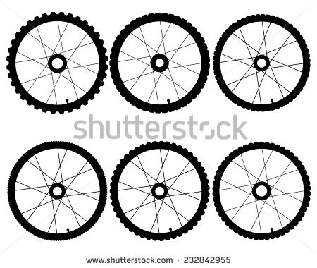 450x380 Collection Of Bike Wheel Drawing High Quality, Free Cliparts