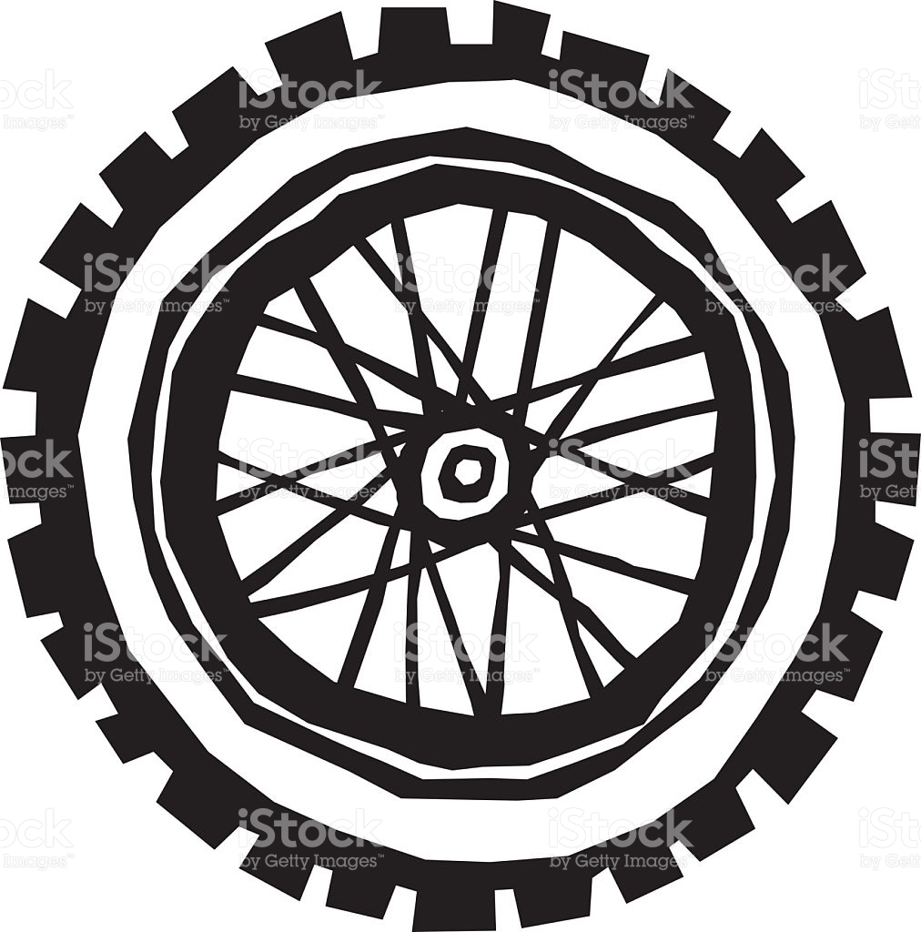 1012x1024 Collection Of Dirt Bike Wheel Drawing High Quality, Free