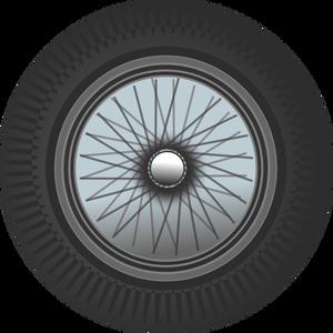 300x300 406 Free 4 Bicycle Wheel Vector Public Domain Vectors