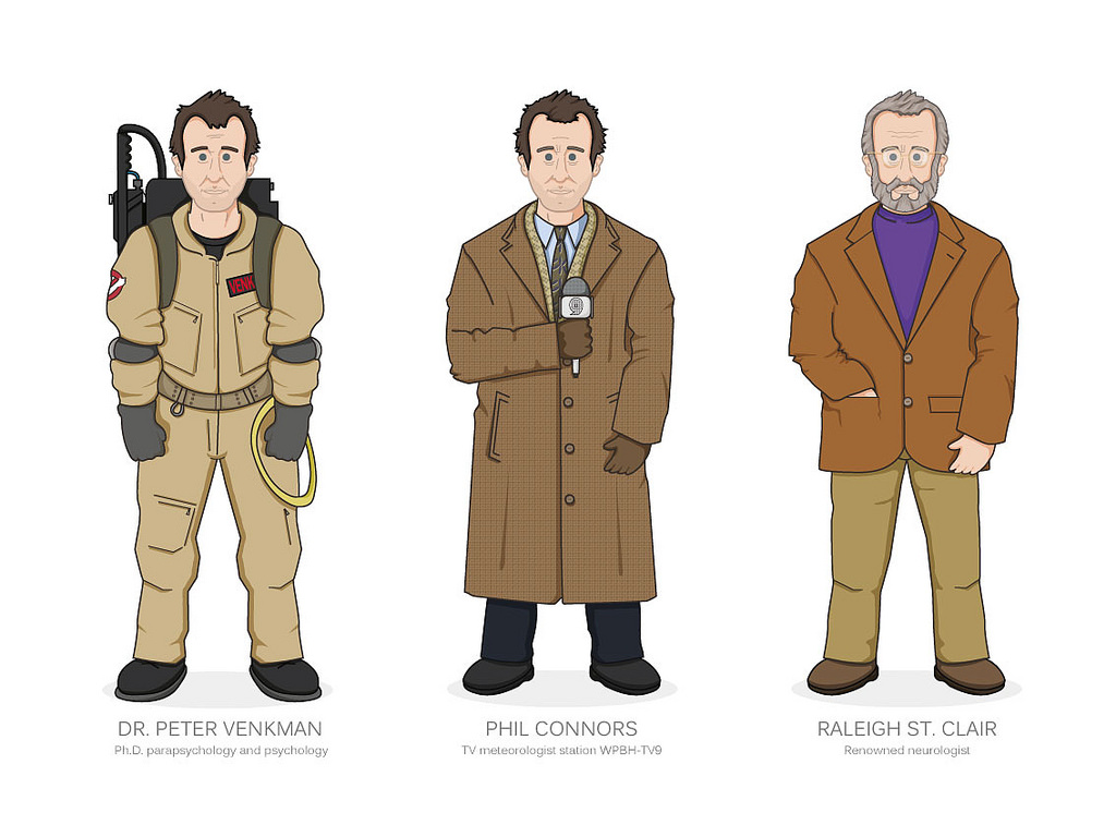 1024x768 Bill Murray Movie Characters Working On A Series Of Bill