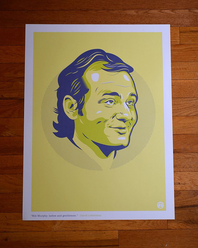 800x1000 Bill Murray Poster By Okpants Graphic Design Bill