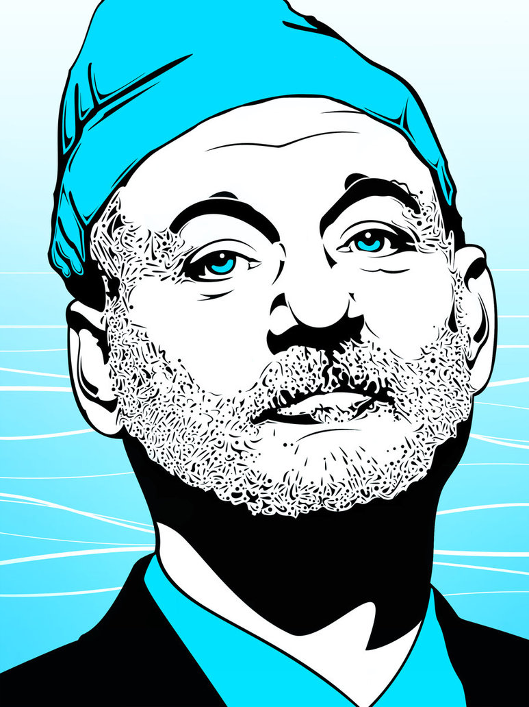 773x1032 Bill Murray The Life Aquatic By Shanemillerdk2