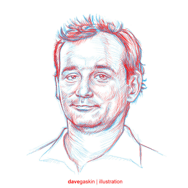 800x800 Collection Of Bill Murray Ghostbusters Drawing High Quality