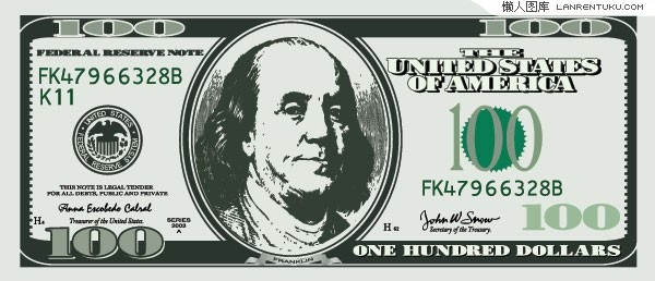 600x258 Free 100 Dollar Bill Vector Graphics Collection My Free