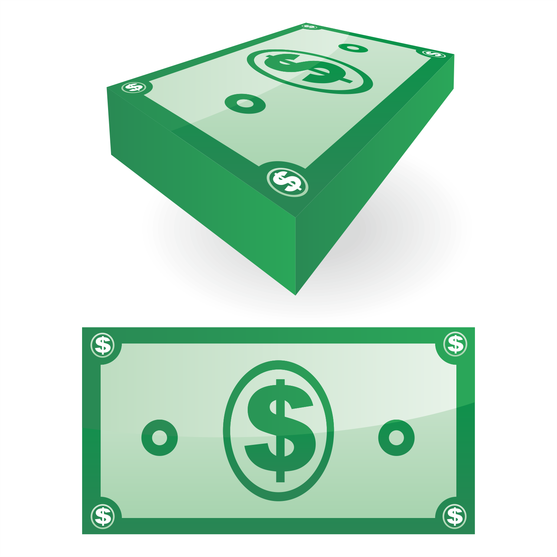 1500x1500 Vector For Free Use Dollar Bill Vector