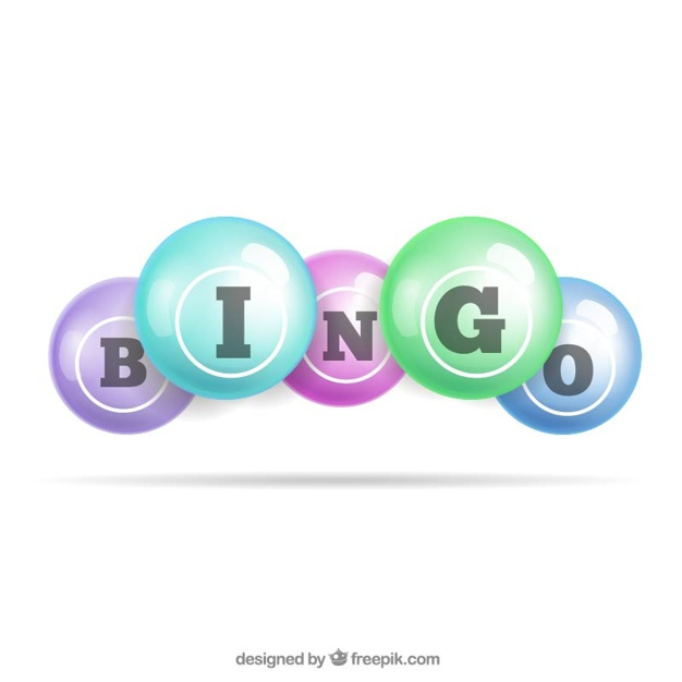 626x626 Bingo Balls Vector Premium Download