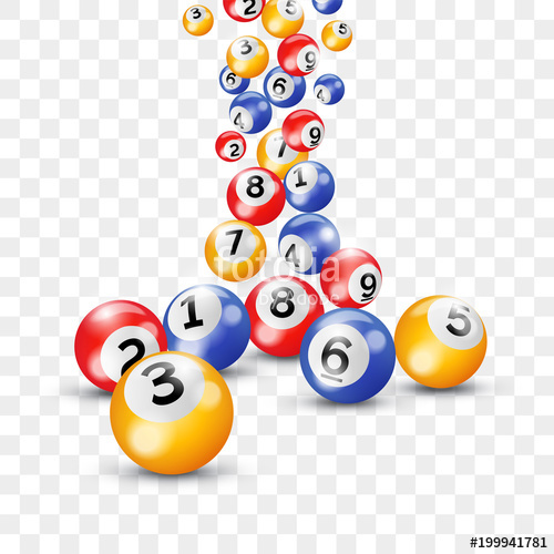 500x500 Bingo Lottery 3d Balls For Keno Lotto On Vector Transparent