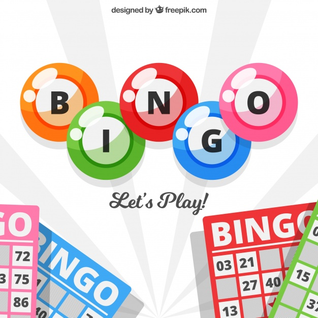 626x626 Background Of Bingo Balls And Ballot Papers Vector Free Download