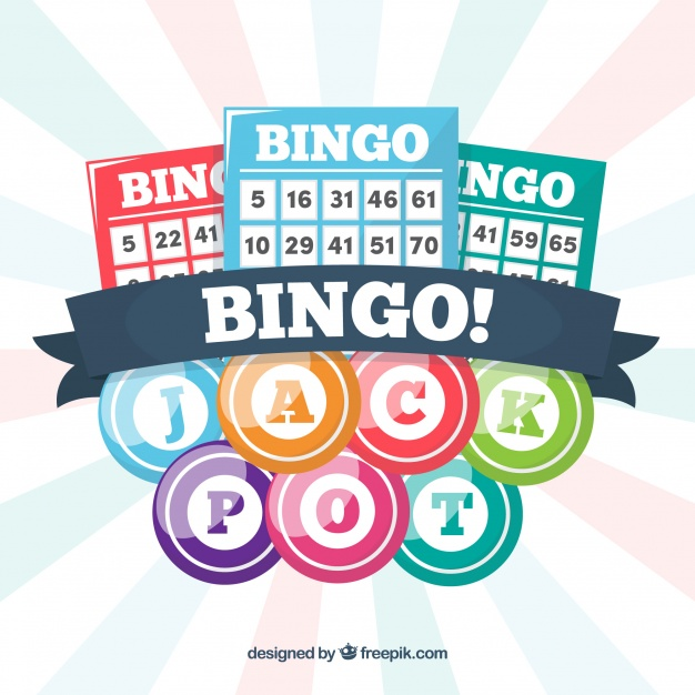 626x626 Background Of Bingo Balls With Ballots Vector Free Download