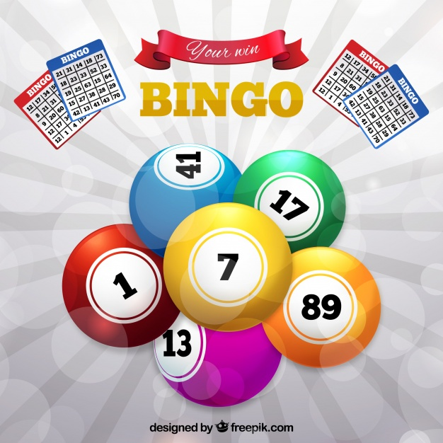626x626 Background Of Colorful Bingo Balls Vector Free Download