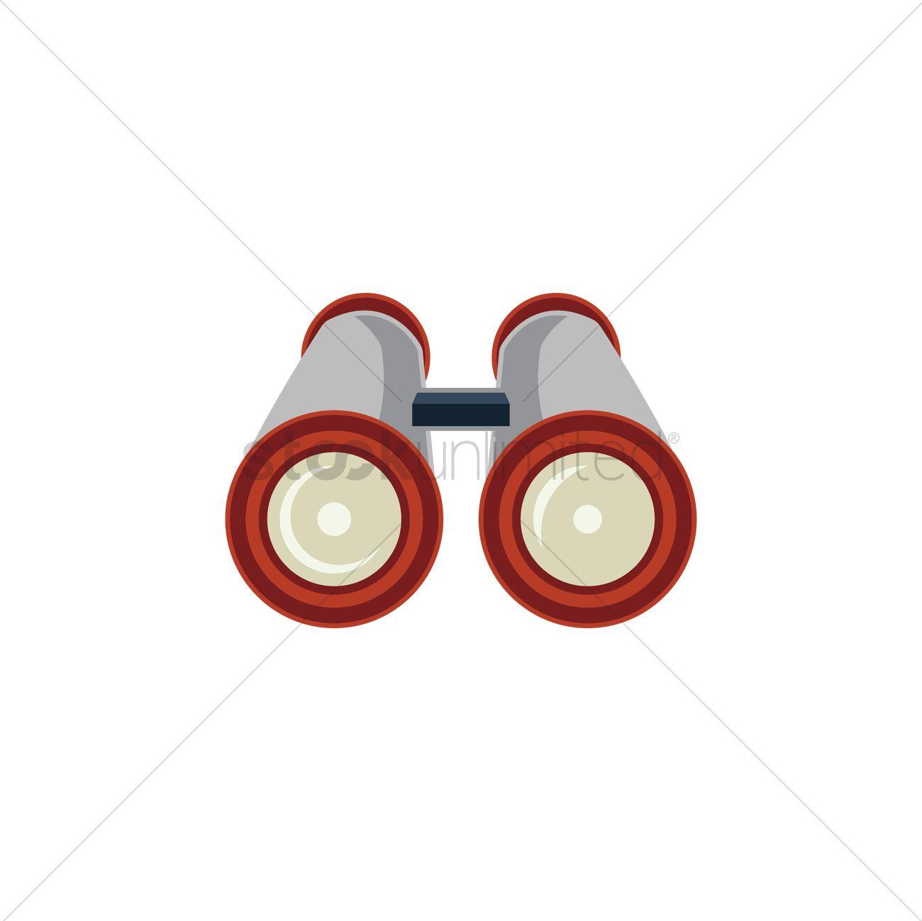1300x1299 Binoculars Icon Vector Image