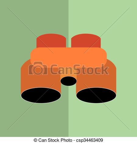 450x470 Binoculars Icon Design . Binoculars Concept With Icon Design