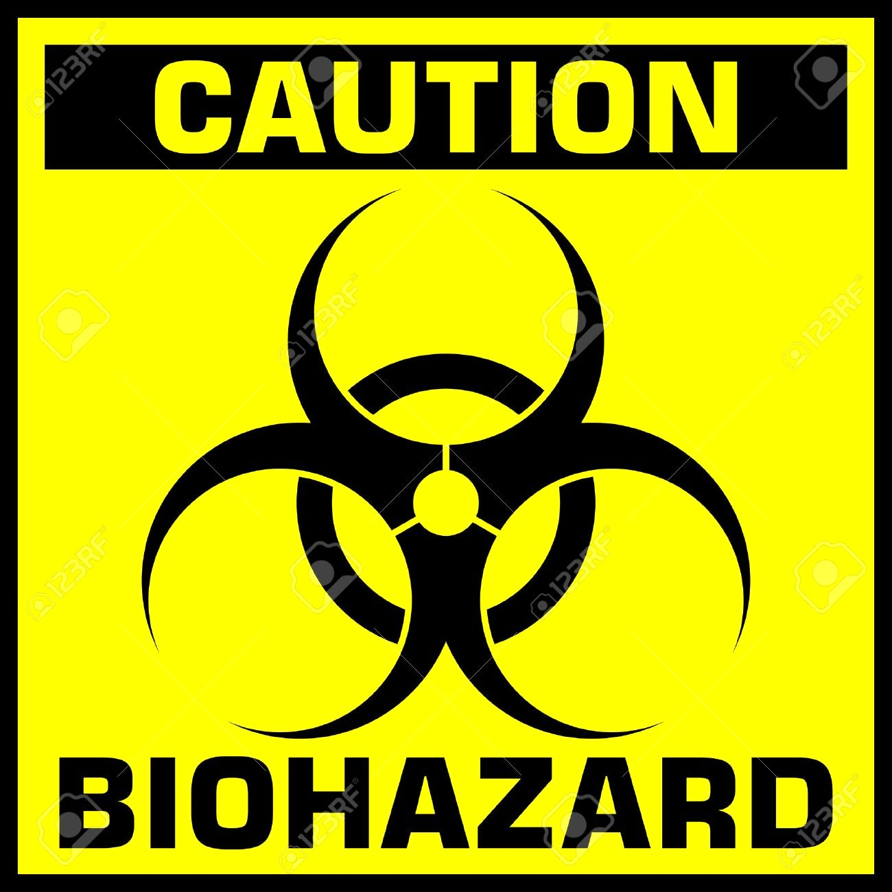 photograph relating to Biohazard Sign Printable titled Biohazard Signal Vector at  No cost for individual