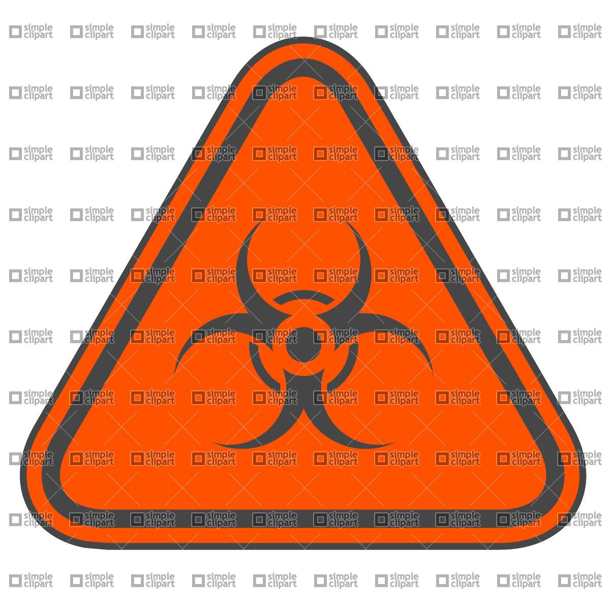 1200x1200 Biohazard Sign Vector Image