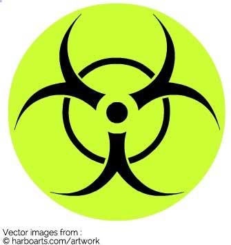 335x355 Download Biohazard Sign