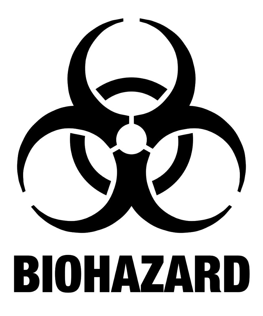 853x1024 The Biohazard Symbol