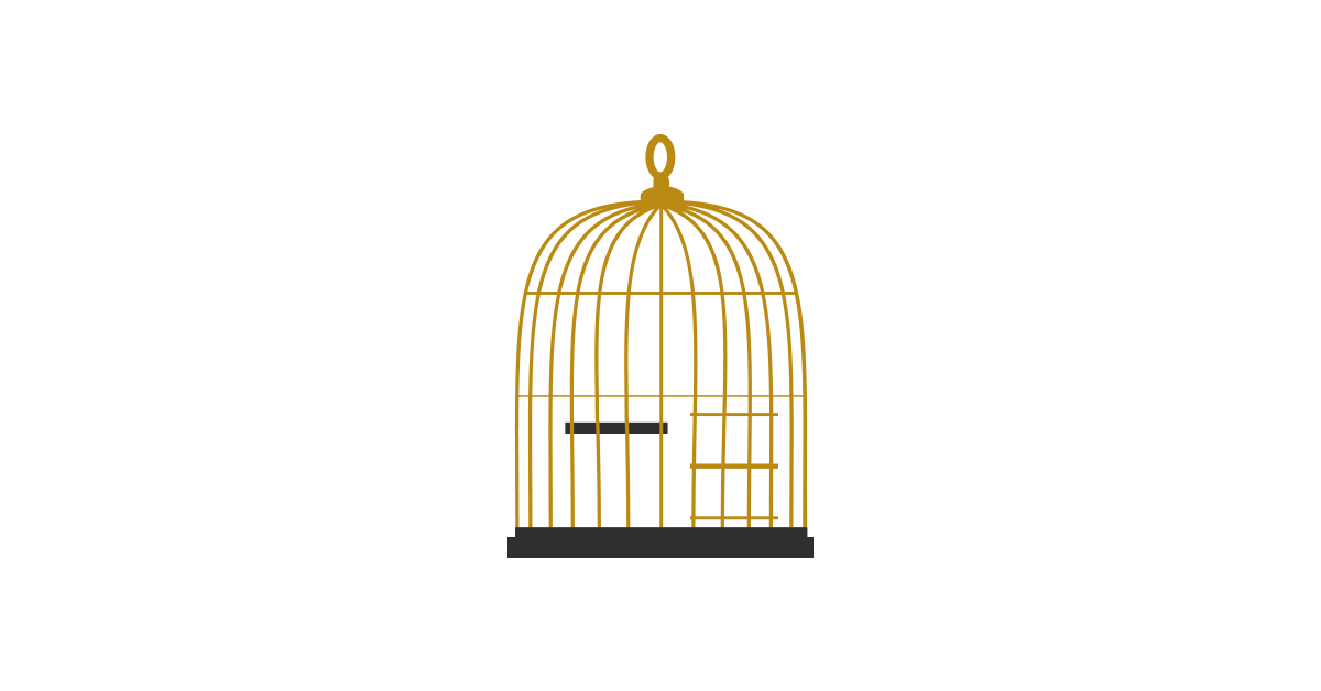 1200x628 Collection Of Free Birdcage Drawing Trapped Bird. Download On Ubisafe