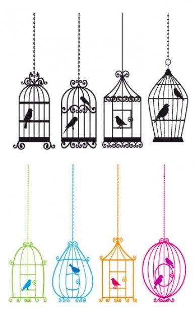 387x626 Bird And Bird Cage
