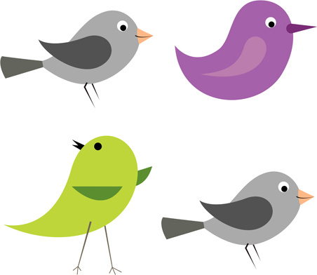 452x392 Cartoon Birds Icons Vector And Photoshop Brushes Free Vector In