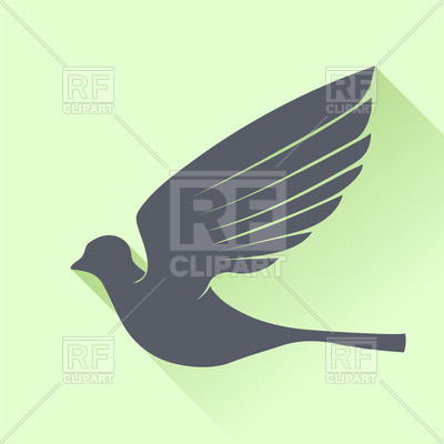 400x400 Grey Bird Icon Vector Image Vector Artwork Of Plants And Animals