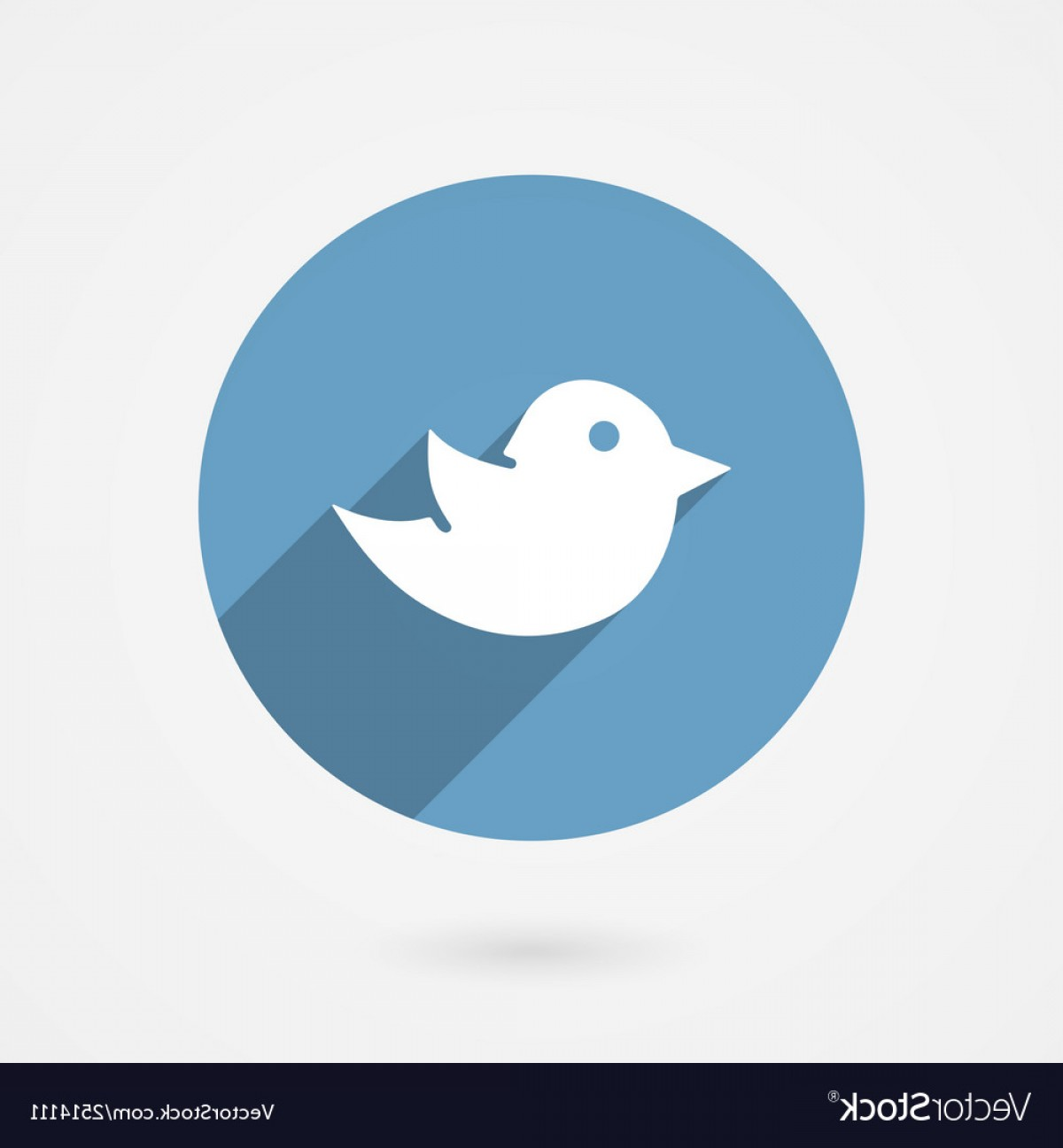 1200x1296 Twitter Bird Social Media Icon Vector Shopatcloth