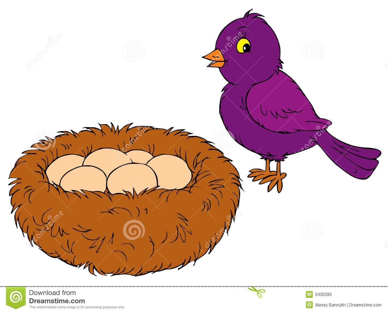 1300x1050 Bird Nest Vector Clip Art Id 45317 Clipart Pictures